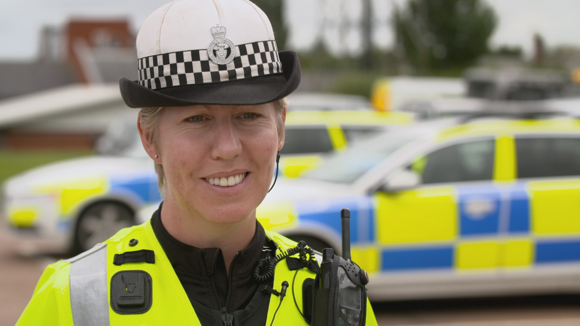 devon and cornwall cops - police woman smiling