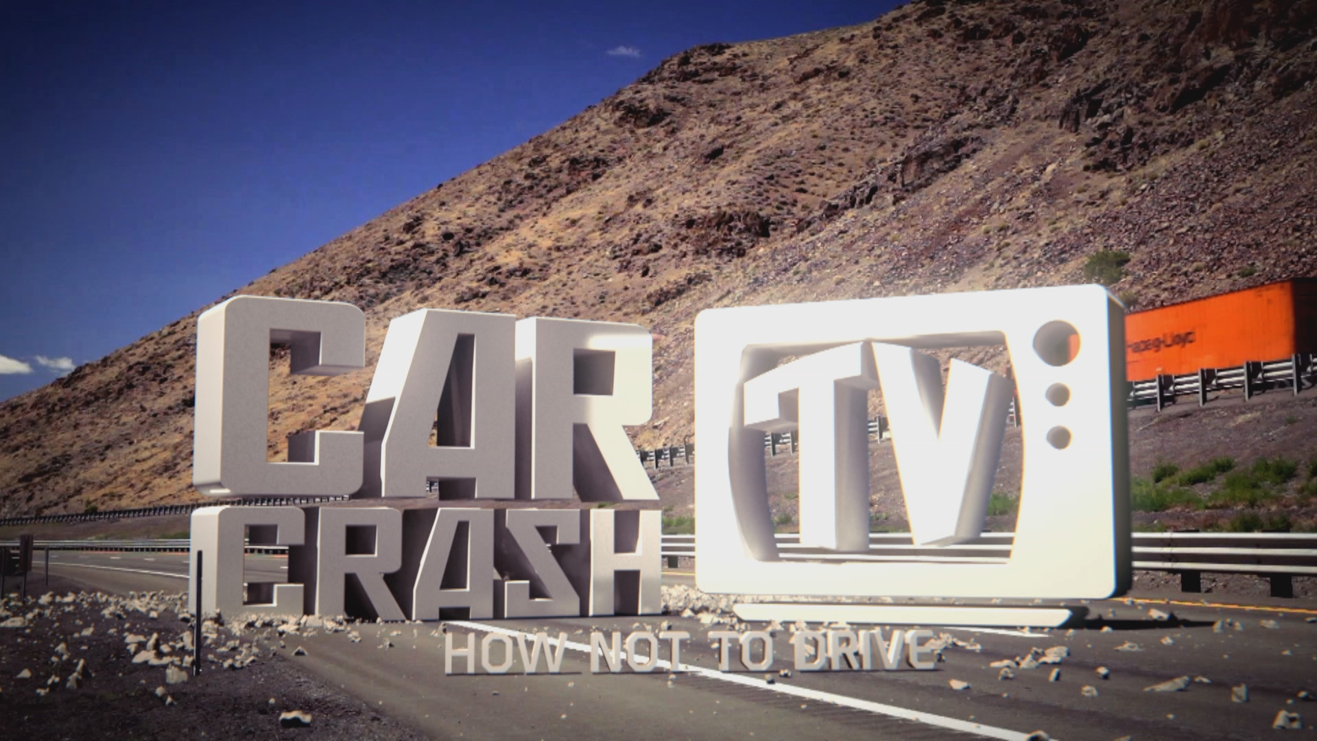 Car Crash TV Series 4 Title card