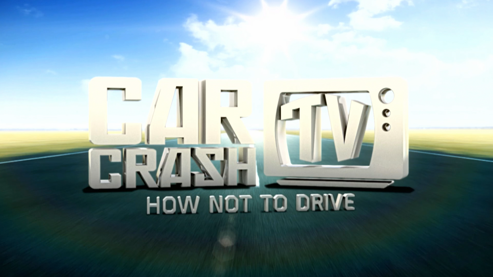 Car Crash TV Series 3 title card