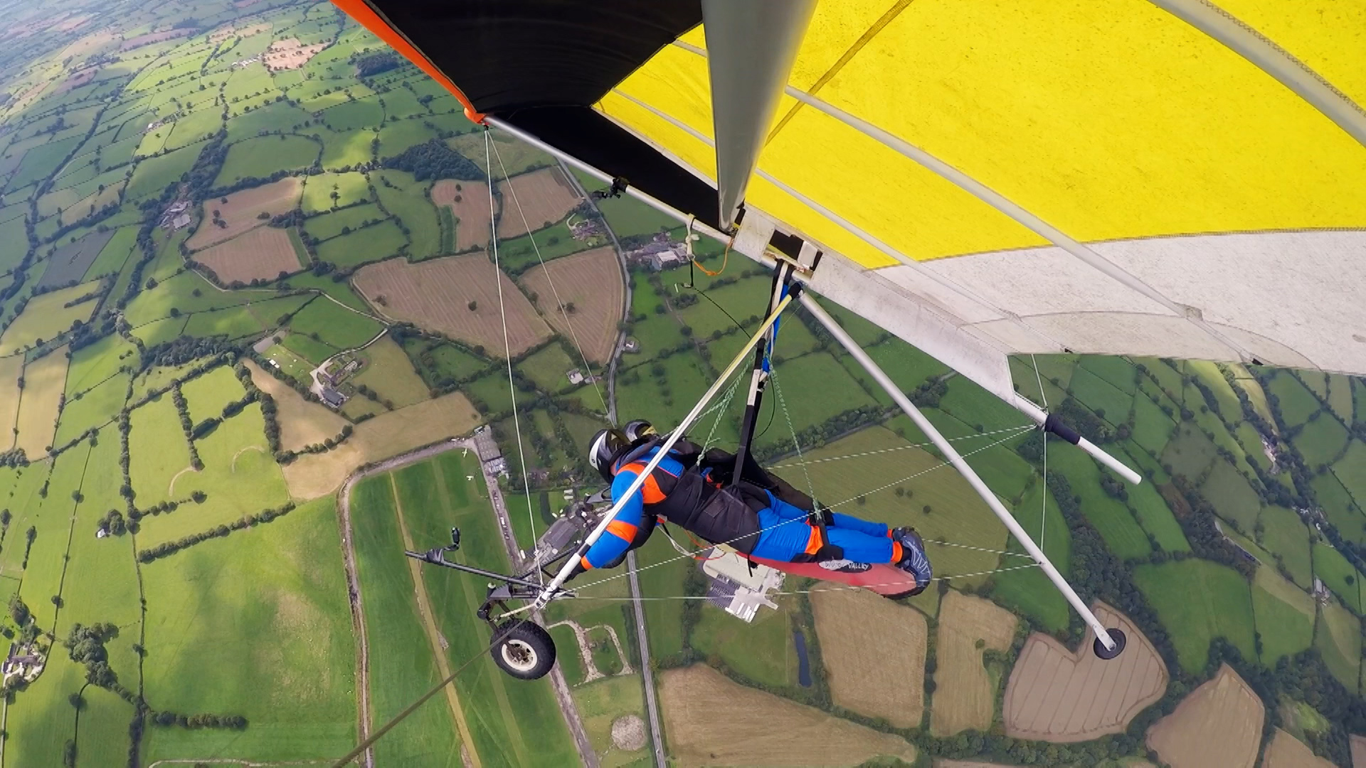 CBBC Beyond Bionic - Andy Torbet paragliding