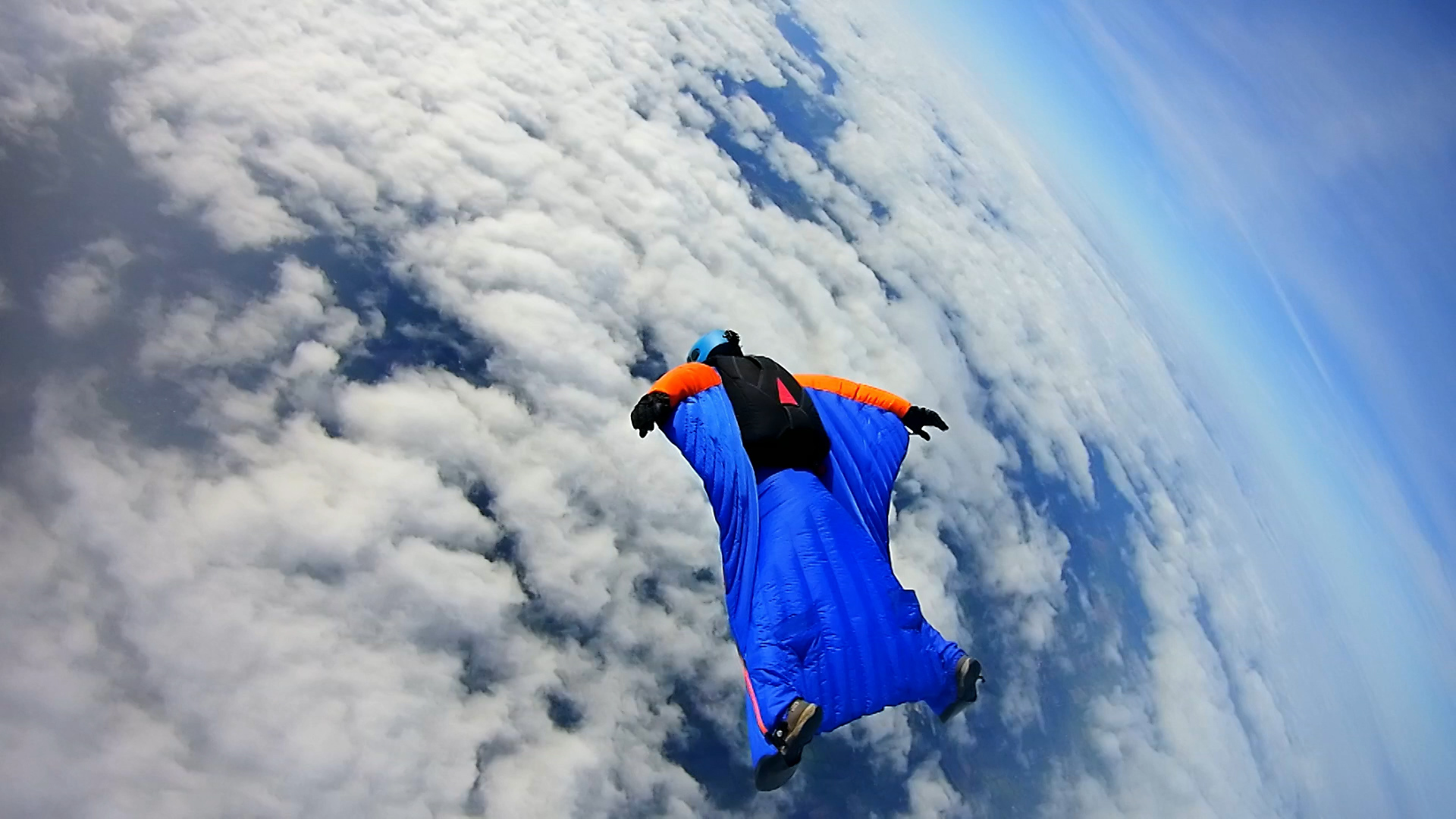 CBBC Beyond Bionic - Andy Torbet flying in the sky