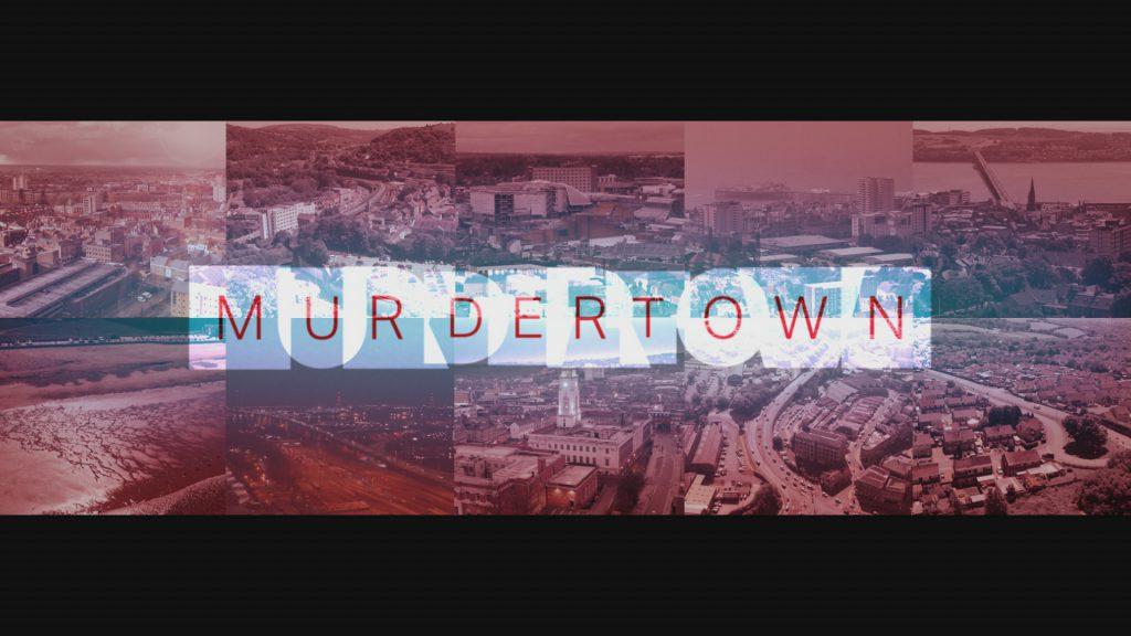 Murdertown Title Card logo