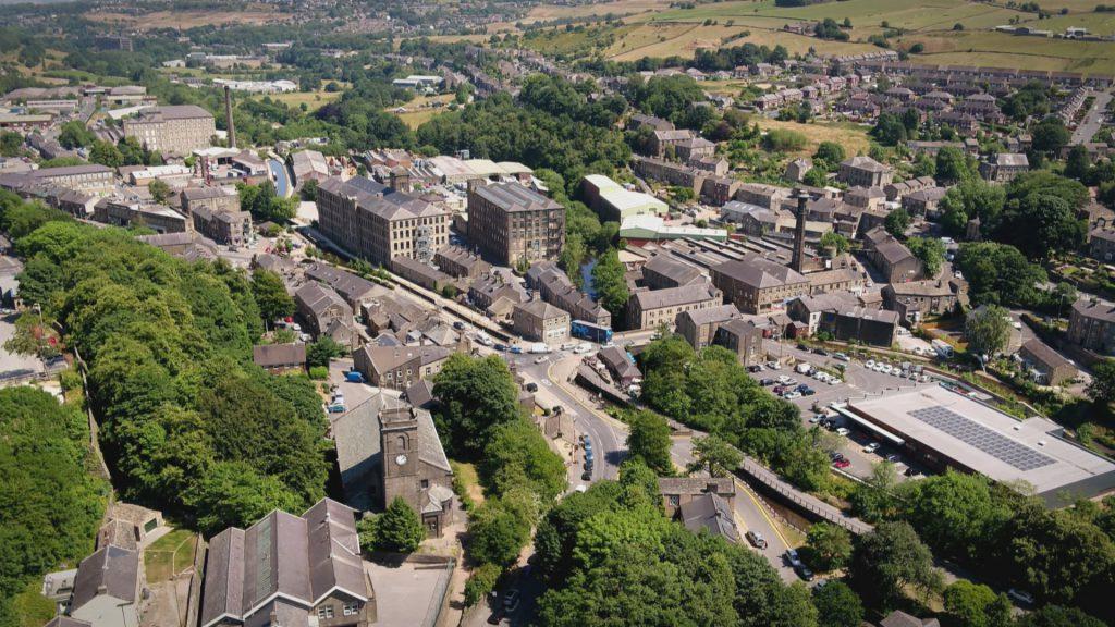 Murdertown huddersfield aerial view