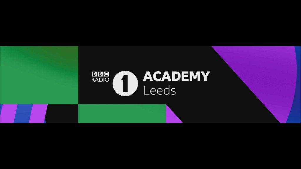 BBC Radio 1 Academy Leeds Logo