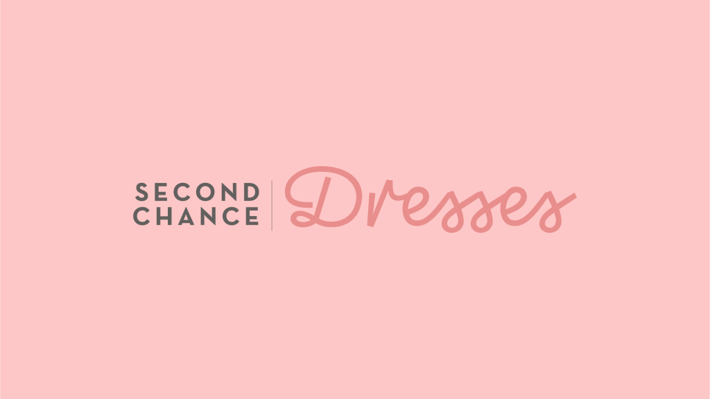 Second Chance Dresses Logo Title Card