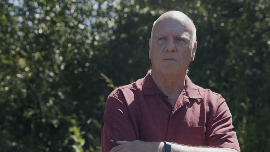 Written In Blood Episode 4 - Peter Robinson dramatic shot