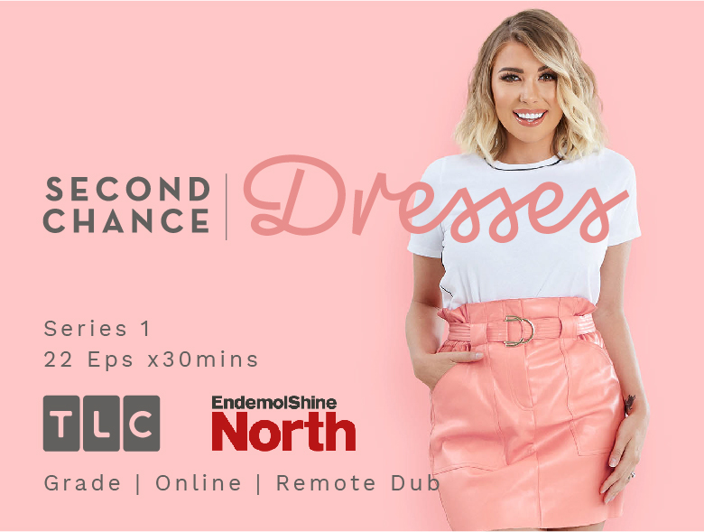 second chance dresses logo olivia buckland tlc post production manchester