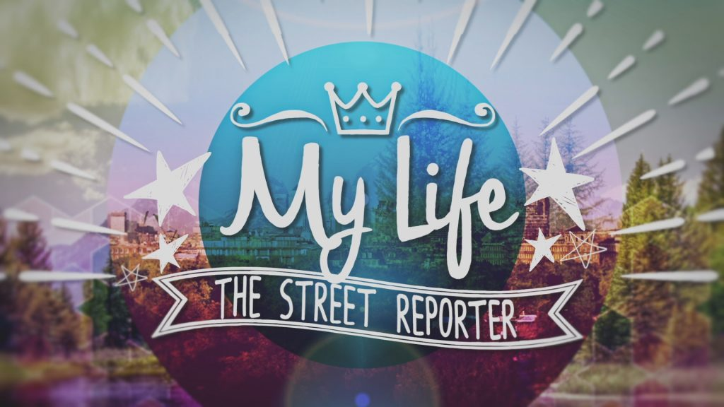 CBBC My Life The Street Reporter - Title card